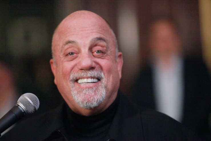 Billy Joel Honored With Steinway Hall Portrait